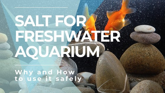 Salt for freshwater tanks